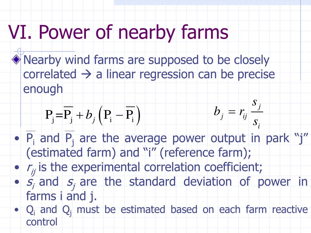 Nearby wind farms are supposed to be closely correlated