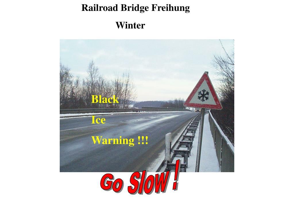 Railroad Bridge Freihung