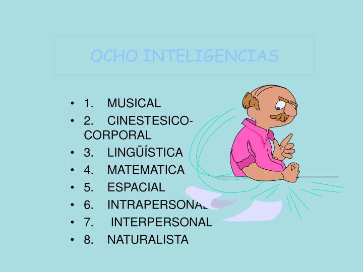 OCHO INTELIGENCIAS