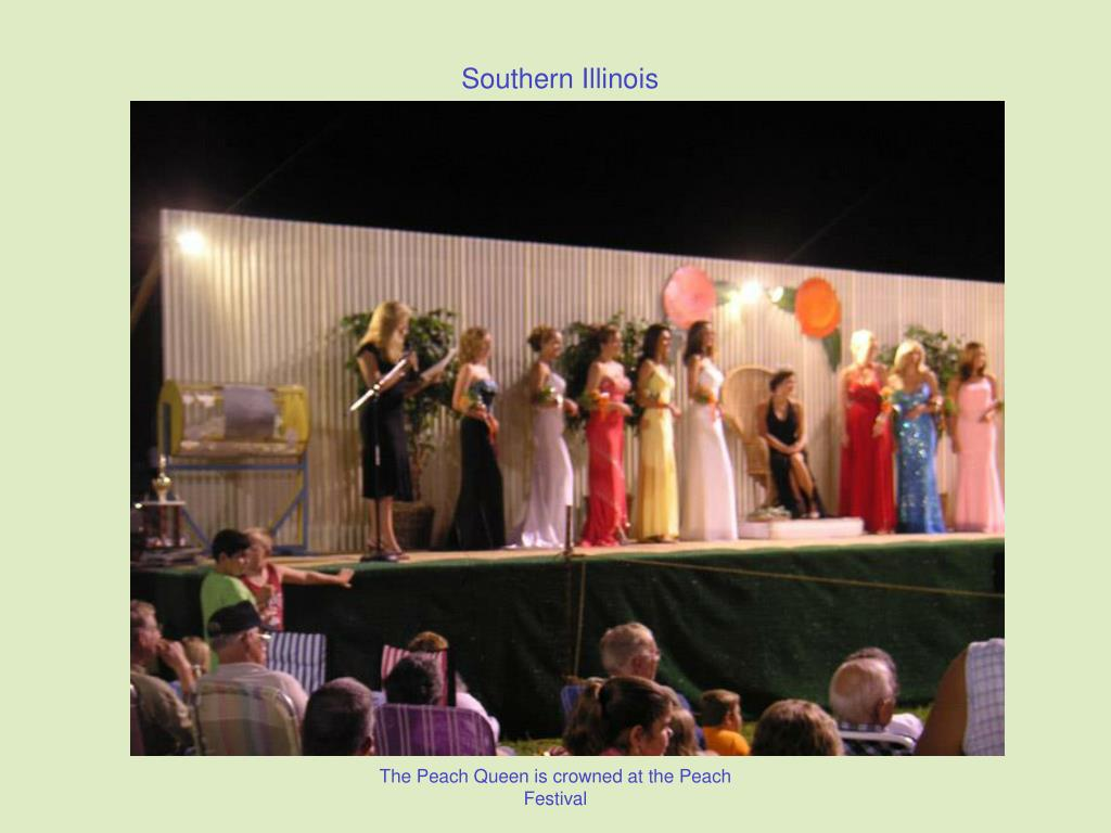 The Peach Queen is crowned at the Peach Festival