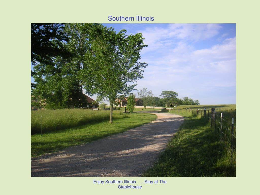 Enjoy Southern Illinois . . . Stay at The Stablehouse