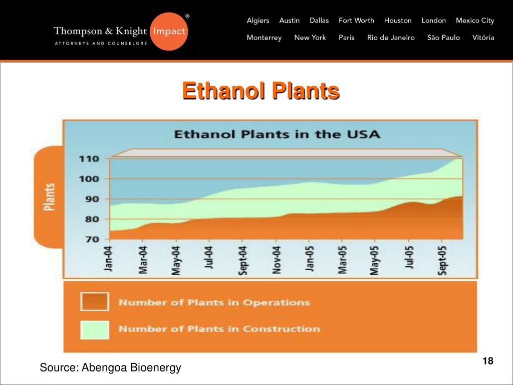 Ethanol Plants