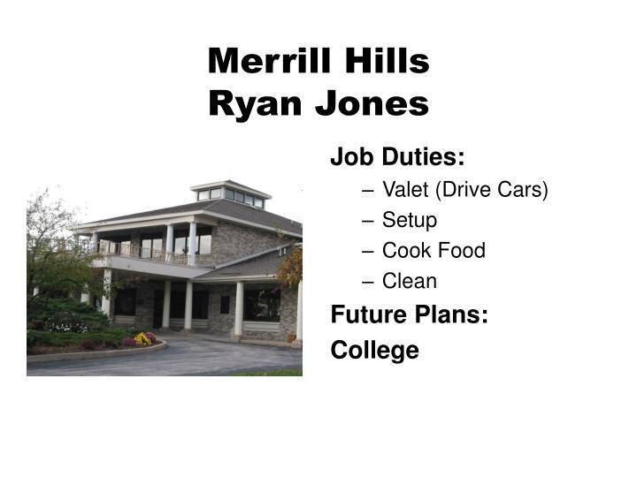 Merrill Hills