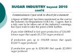 sugar industry beyond 2010 cont d40