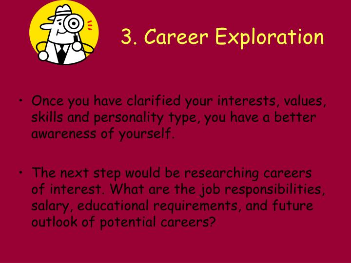 the career exploration a personal review Letter to county and district superintendents and charter school administrators regarding the asvab career exploration program.