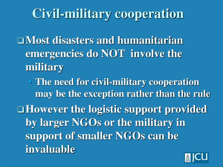 role of ngos in desaster management Roles and responsibilities of the united nations system in disaster management organizations and ngos to respond in a strategic manner across all key.