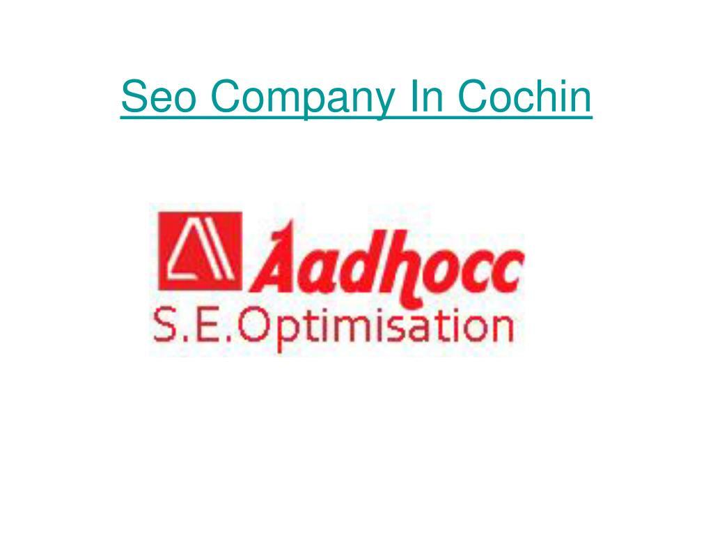 seo company in cochin l.