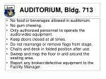 auditorium bldg 713