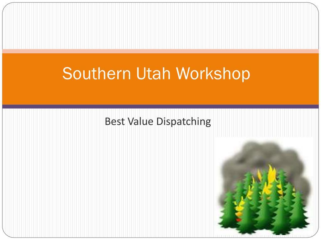 southern utah workshop l.
