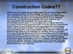 construction codes