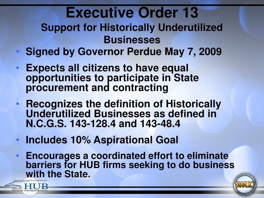 Executive Order 13