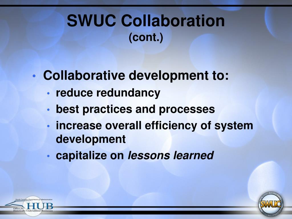 SWUC Collaboration