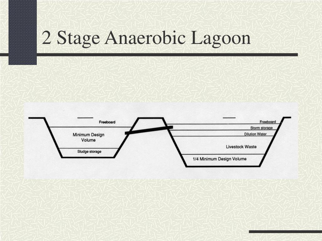 2 Stage Anaerobic Lagoon