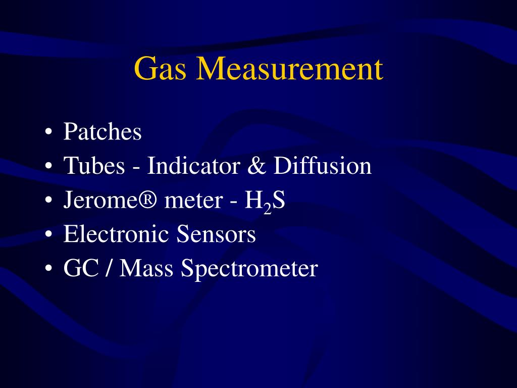 Gas Measurement