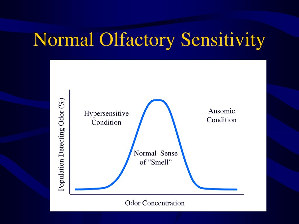Normal Olfactory Sensitivity