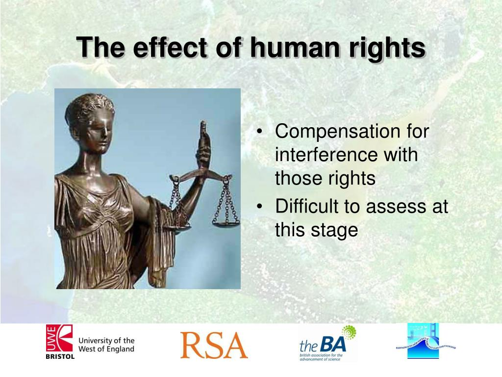 The effect of human rights