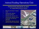 animal feeding operations unit5
