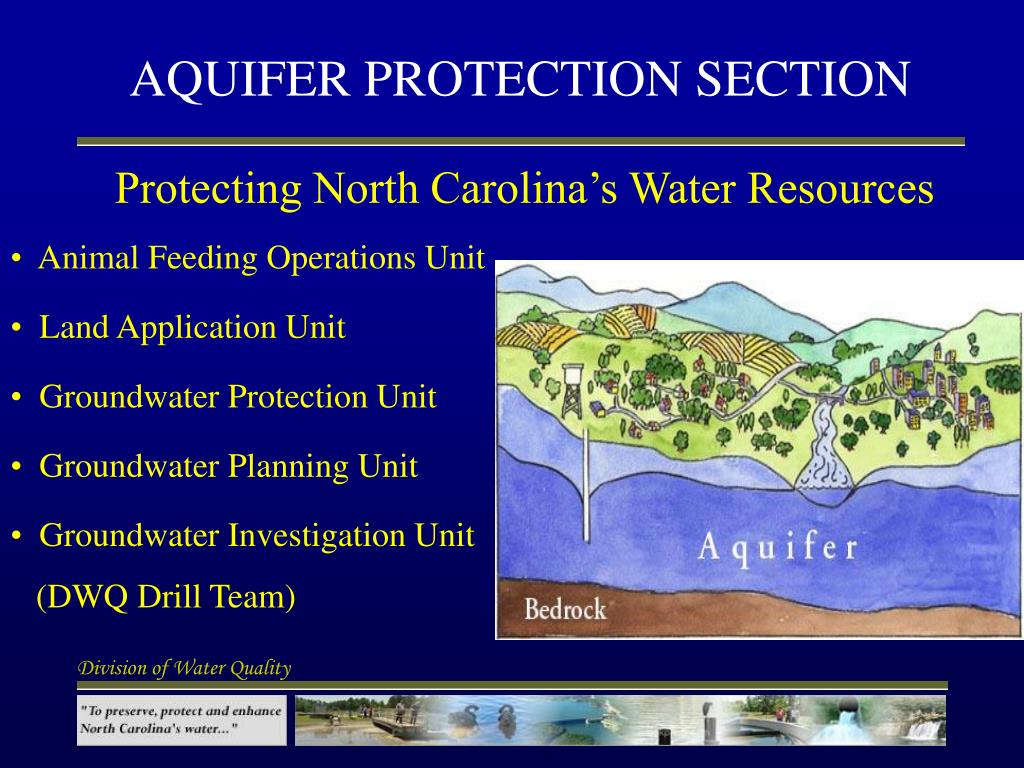 aquifer protection section l.