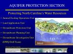 aquifer protection section
