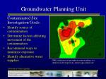 groundwater planning unit16