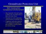 groundwater protection unit12