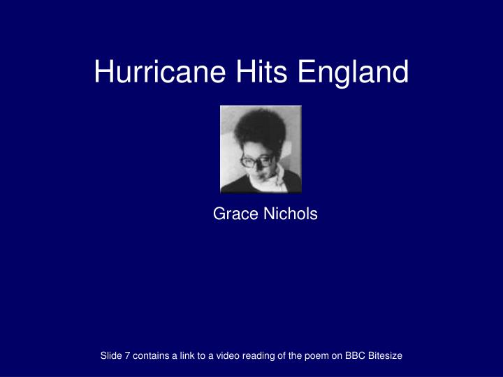 search for my tongue and hurricane hits england case essay Poetic techniques and quotes search for my tongue by sujata bhatt  hurricane hits england by grace nichols  this audio bite is about poetic techniques and quotes.