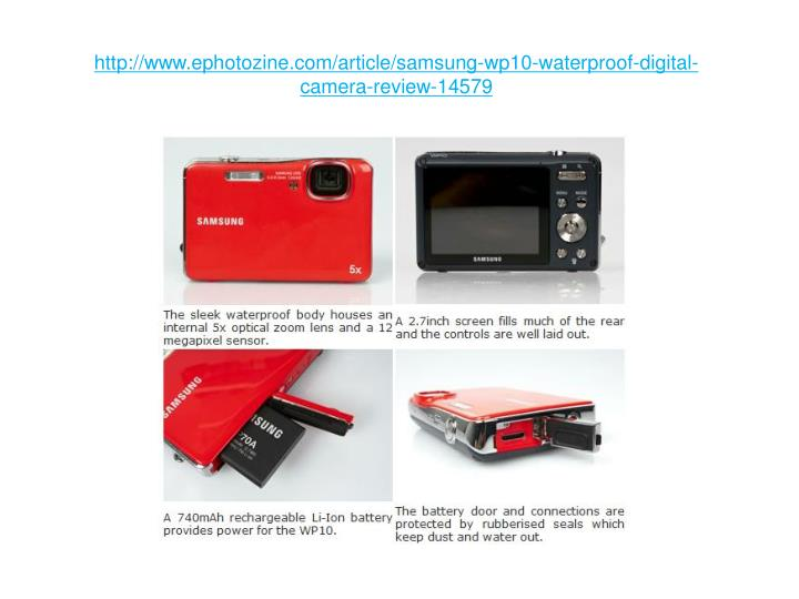 Http www ephotozine com article samsung wp10 waterproof digital camera review 14579