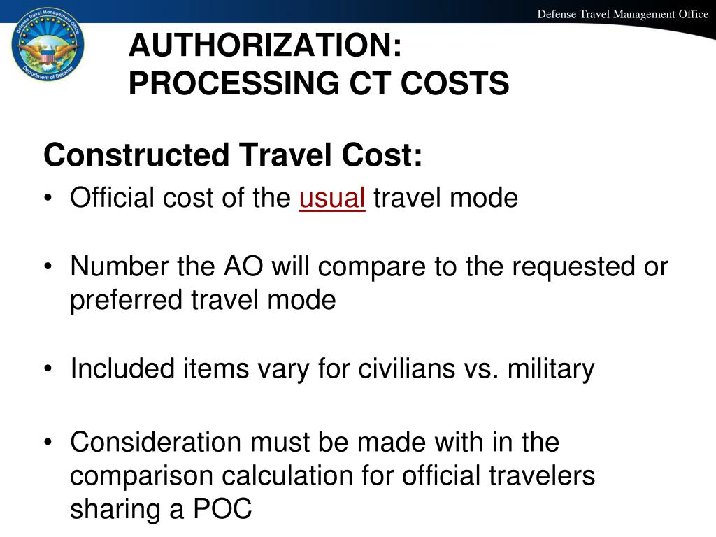 Dts Cost Comparison Worksheet / Constructed Travel ...