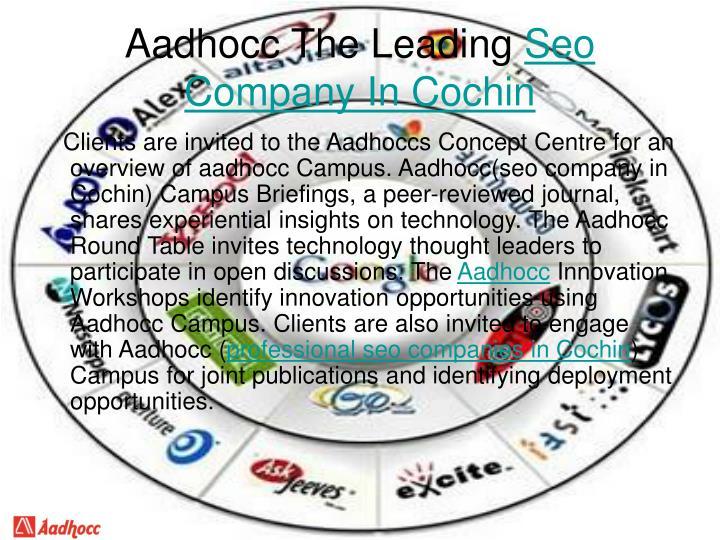 Aadhocc The Leading