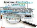 importance of seo company in cochin kerala