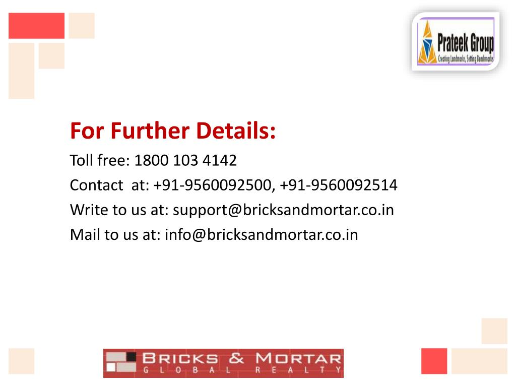 For Further Details: