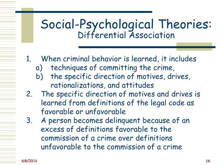 is criminal behavior learned or does Criminal behavior is learned criminal behavior is learned in interaction with other persons in a process of communication the principal part of the learning of criminal behavior.