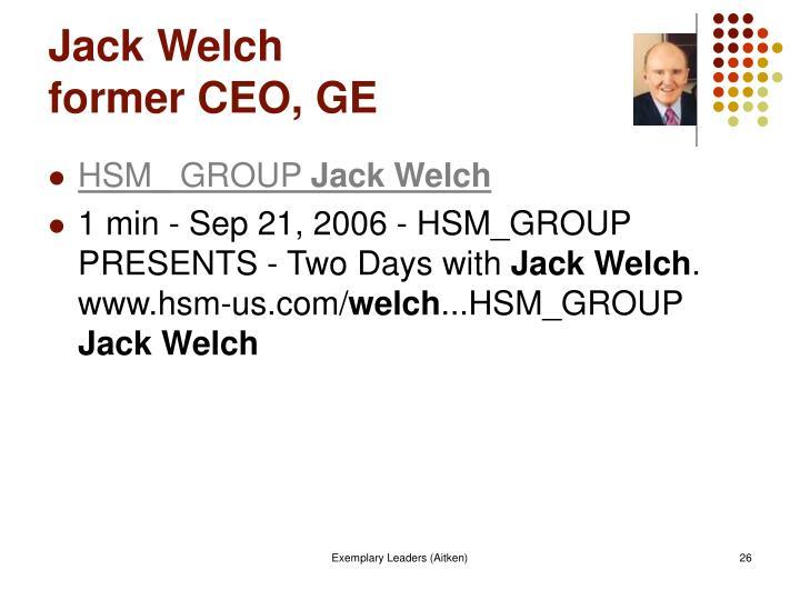 ge s two decade transformation jack welch s leadership Scribd es red social de lectura y publicación más importante del mundo.