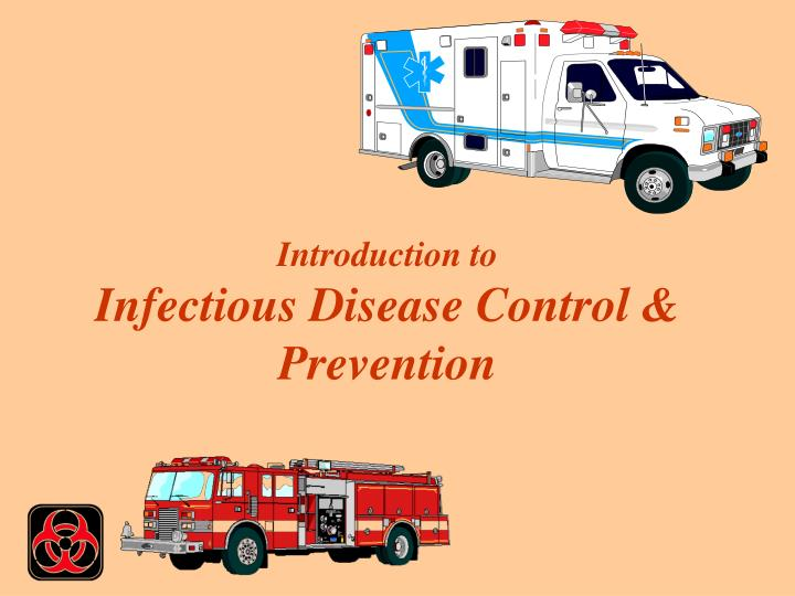 introduction to infectious disease control prevention n.