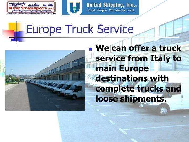 Europe Truck Service
