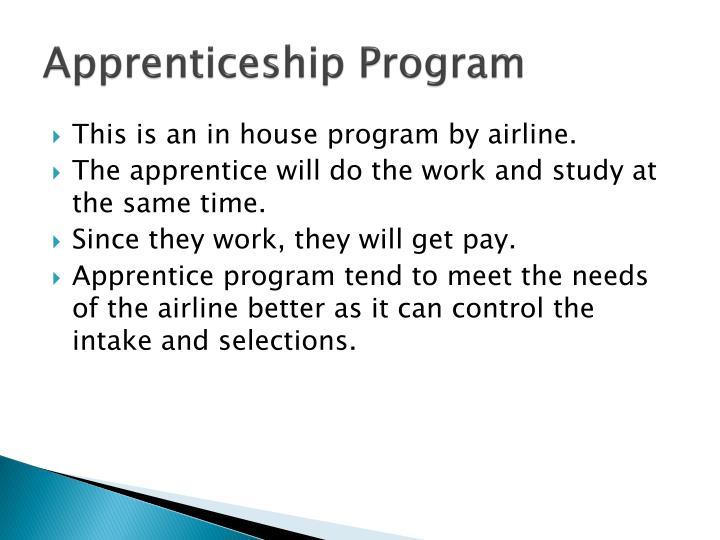 Apprenticeship Program