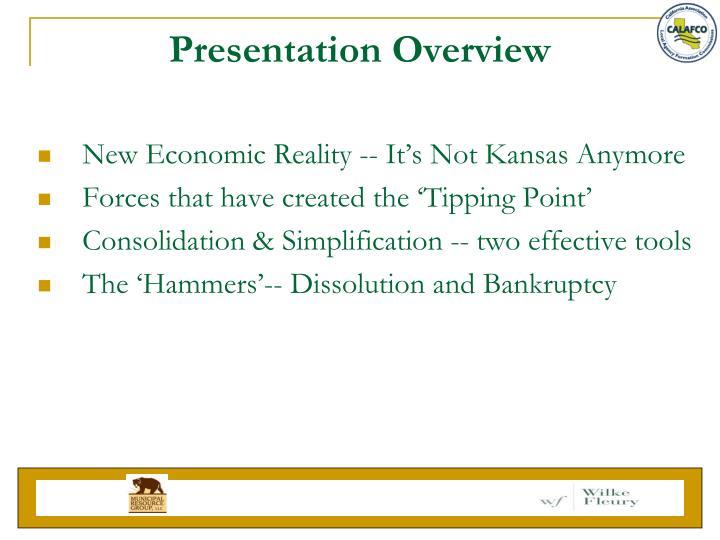 Presentation overview1