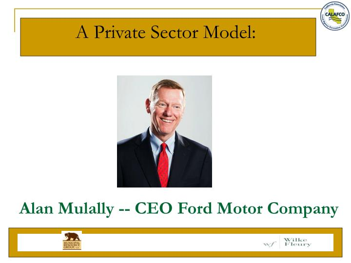 A Private Sector Model: