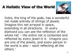 a holistic view of the world2