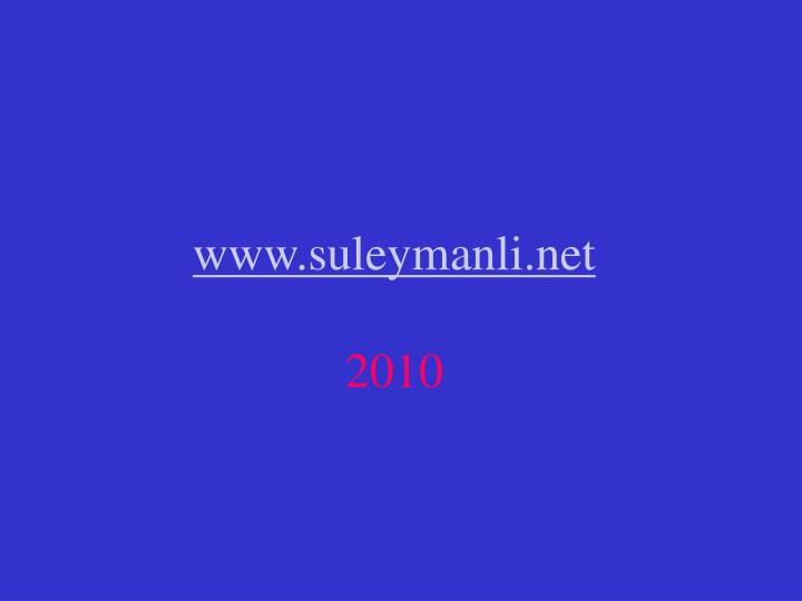www.suleymanli.net