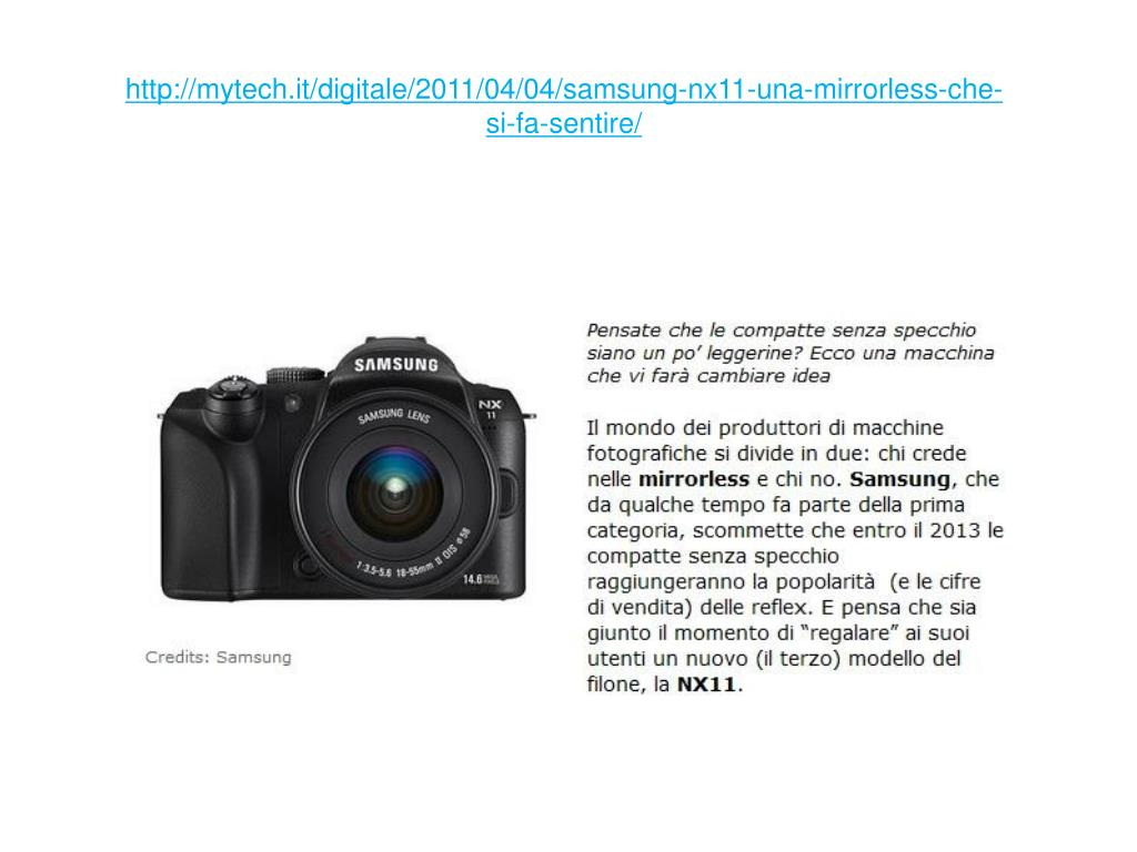 http mytech it digitale 2011 04 04 samsung nx11 una mirrorless che si fa sentire l.