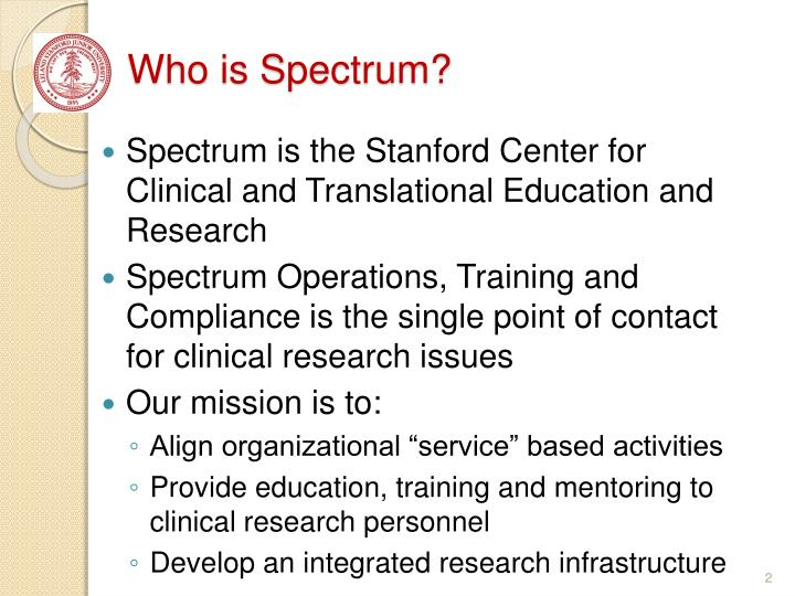 Who is spectrum