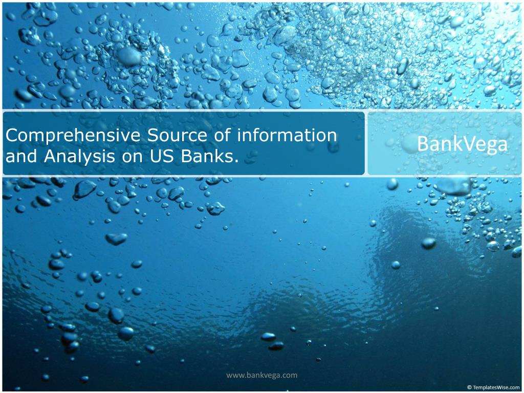 comprehensive source of information and analysis on us banks l.