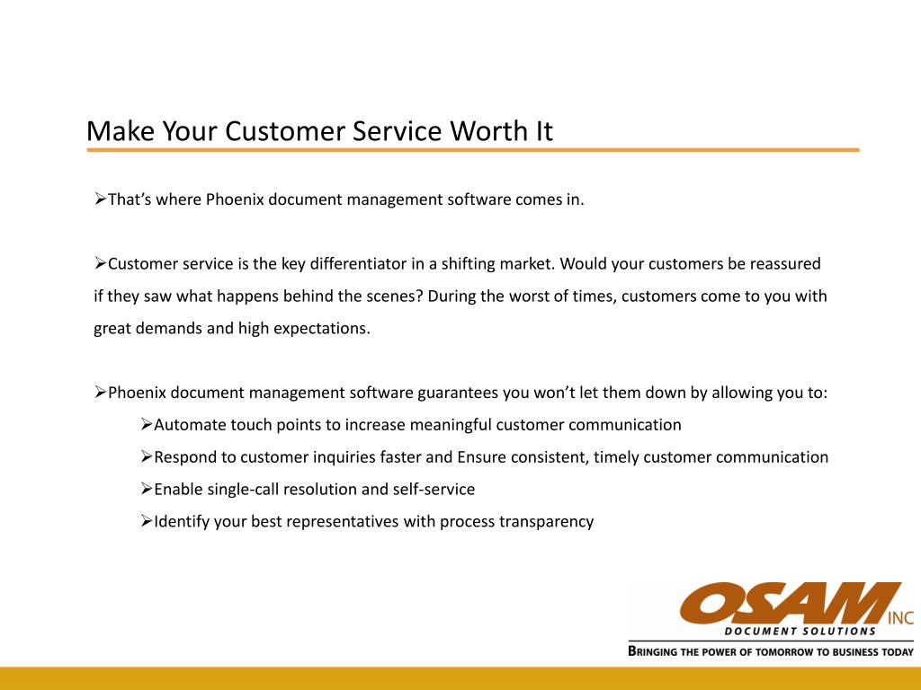 Make Your Customer Service Worth It