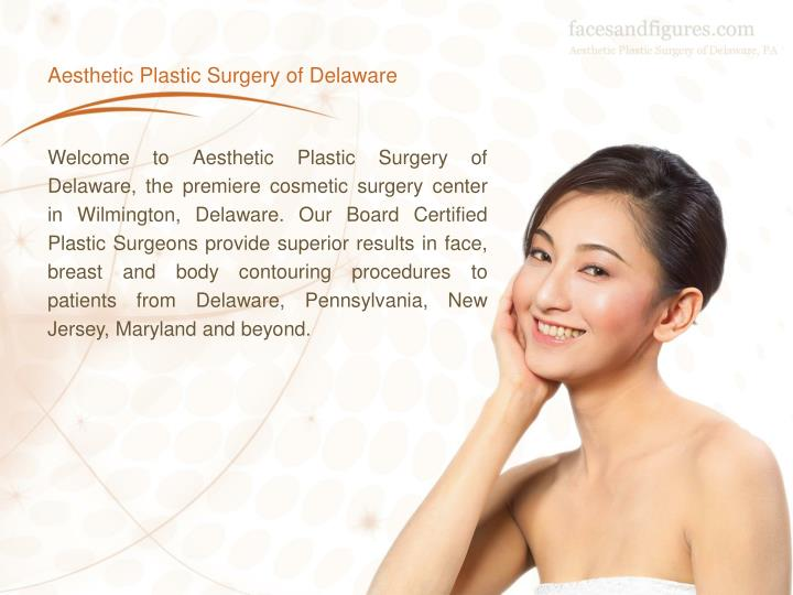 Aesthetic plastic surgery of delaware