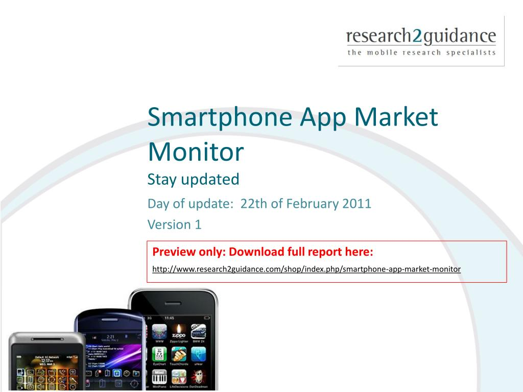 smartphone app market monitor stay updated l.