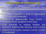 advantages of waterlooville