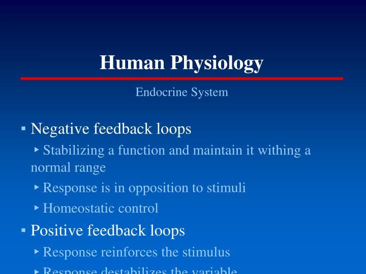 Human physiology1
