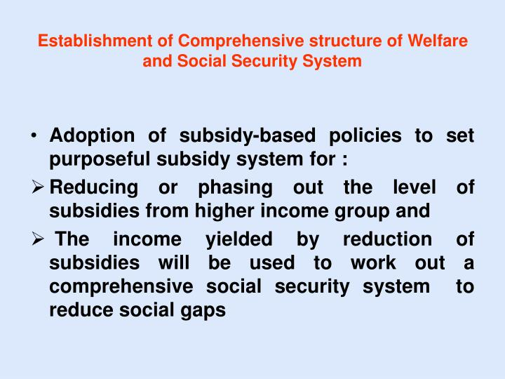 the social security system Thailand has a social security system which is funded by workers contributions as well as additional contributions from the employer.