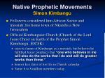 native prophetic movements simon kimbangu2